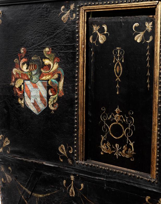 Detailabbildung: Barocke Sänfte