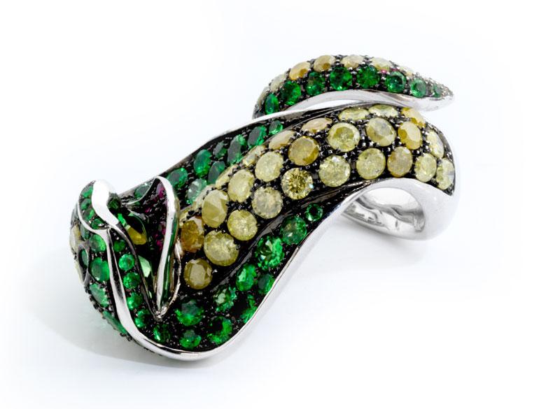Detailabbildung: Kobra Ring von Paolo Piovan