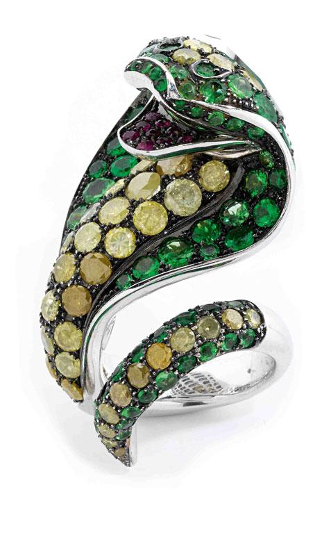 Kobra Ring von Paolo Piovan