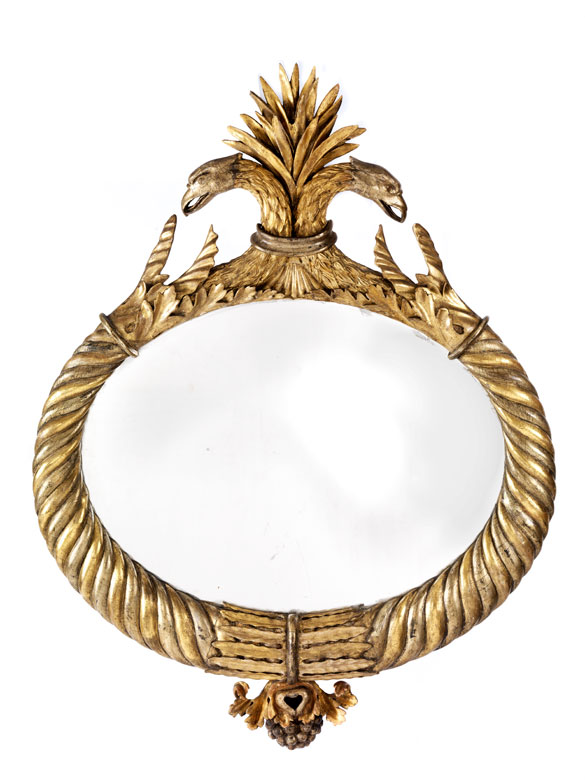 Außergewöhnlicher Empire-Spiegel