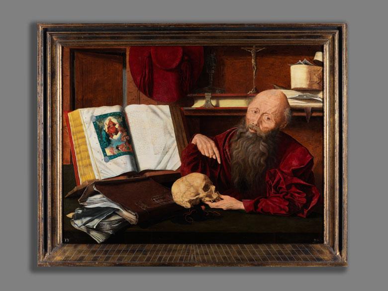 Detailabbildung: Marinus van Reymerswael, 1493 Reymerswael – 1567 Goes, zug.