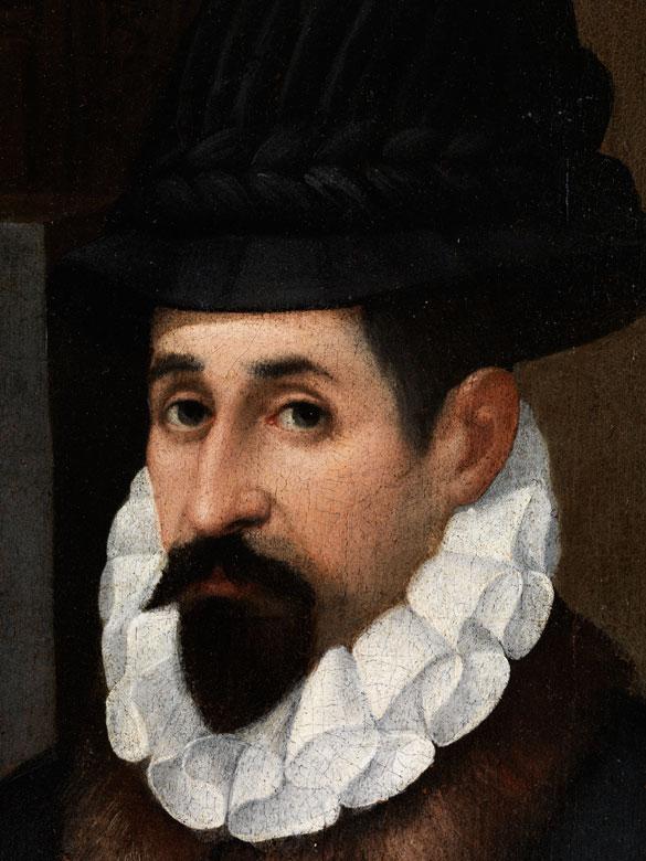 Detailabbildung: Bartholomeo Passarotti, 1529 Bologna – 1592 Rom, zug.