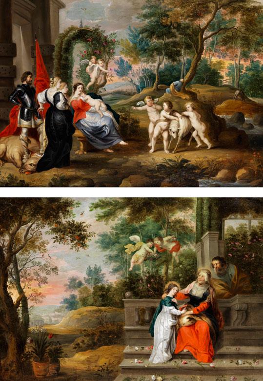 Abraham Willemsen, um 1627 Antwerpen – 1672