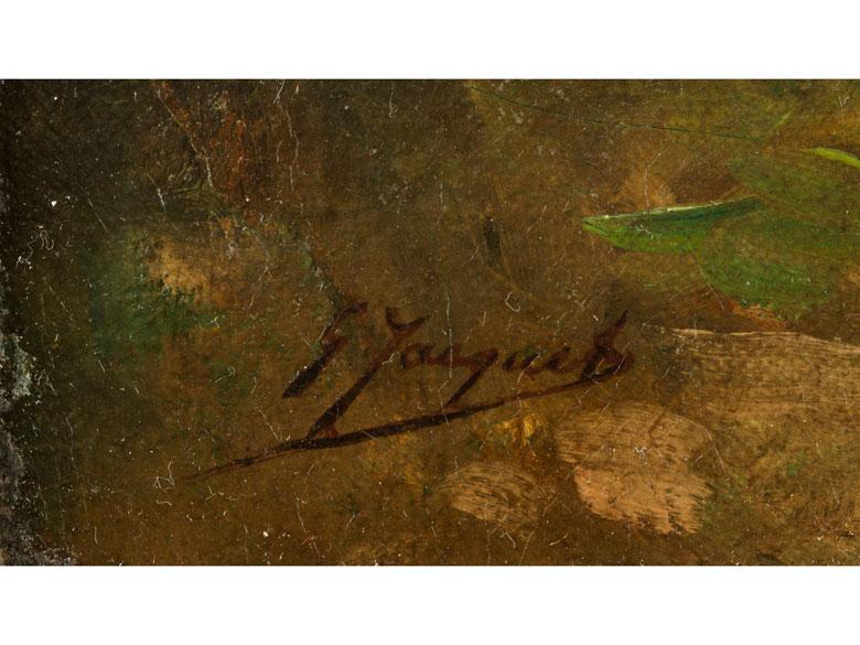 Detailabbildung: Gustave Jean Jacquet, 1846 – 1909