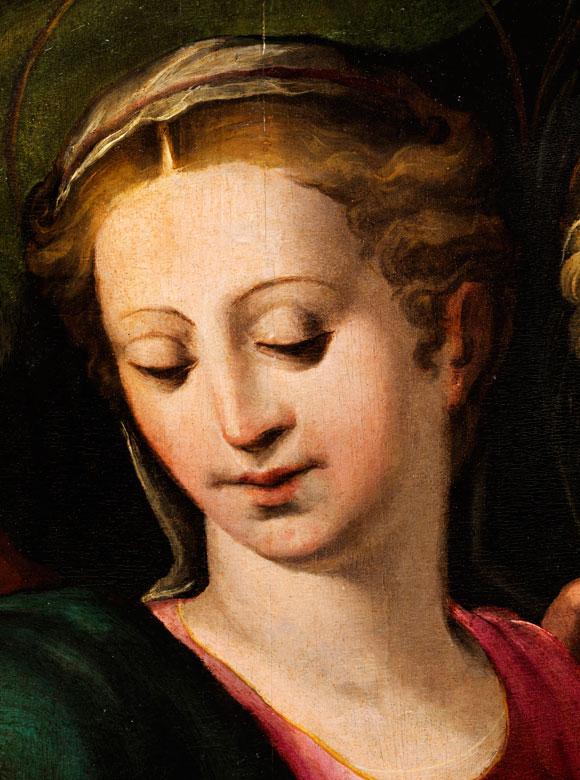 Detailabbildung: Bedeutender Meister der Schule der Emilia Romagna des 16. Jahrhunderts