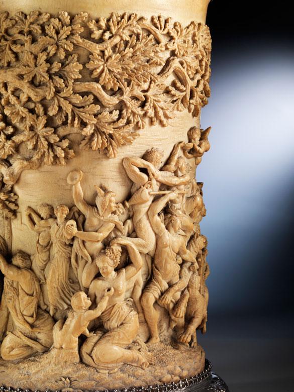 Detailabbildung: Prunkhumpen mit dem Triumphzug der Ceres