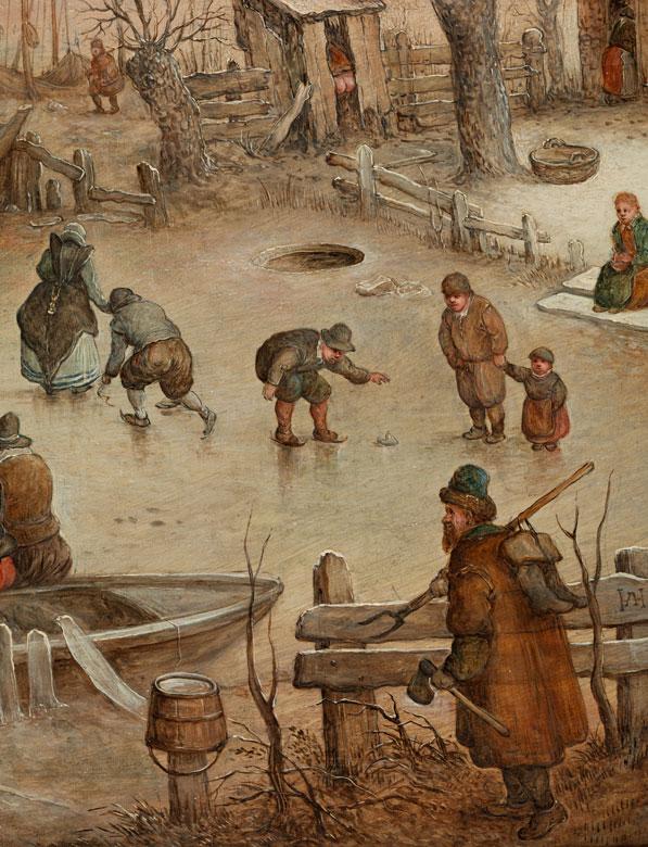 Detailabbildung: Hendrick van Avercamp, 1585 Amsterdam – 1634 Kampen