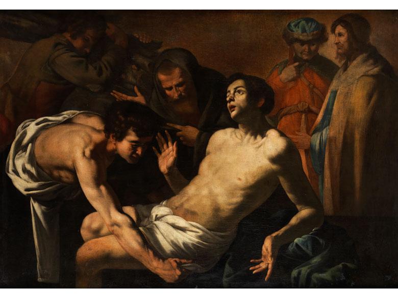 Maestro del Gesù fra i dottori, aktiv in Neapel in den 1620er und 1650er Jahren, zug.