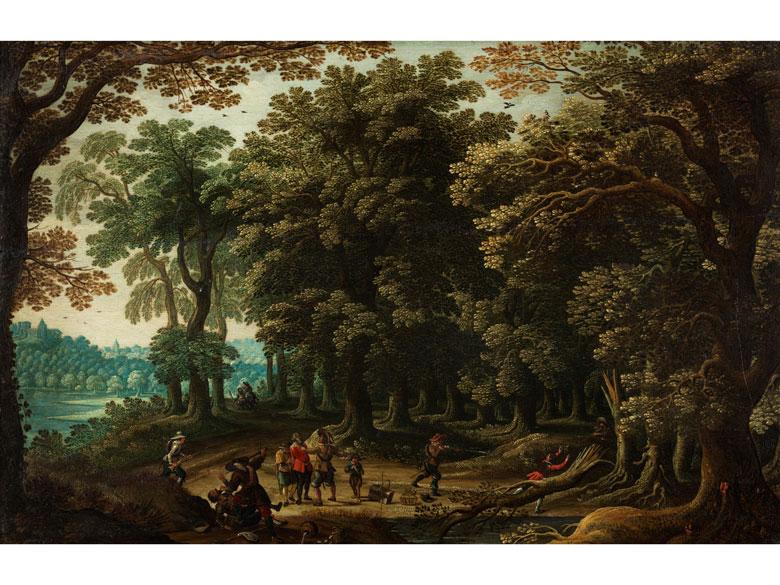 David Ryckaert III, 1612 Antwerpen – 1661, zug.