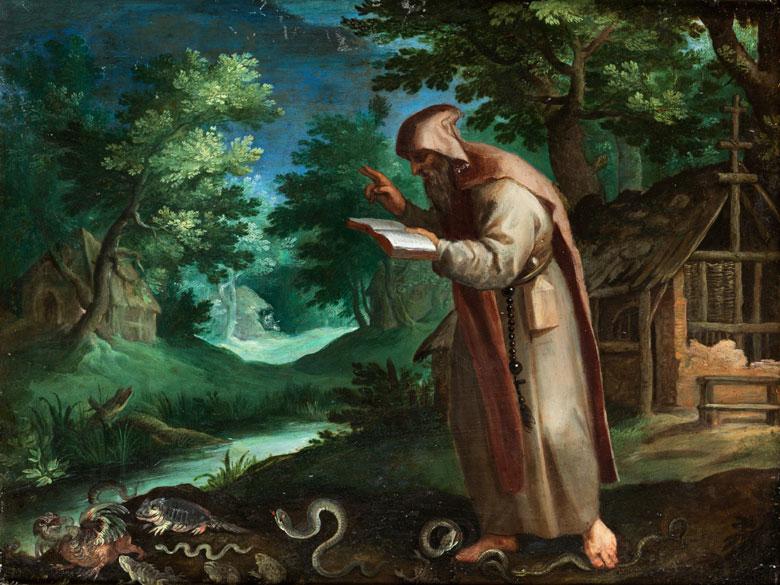 Paul Bril, 1553/54 Antwerpen – 1626 Rom, zug.