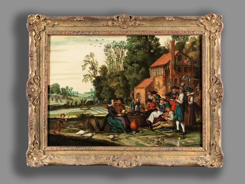 Detailabbildung: Haarlemer Meister des 17. Jahrhunderts