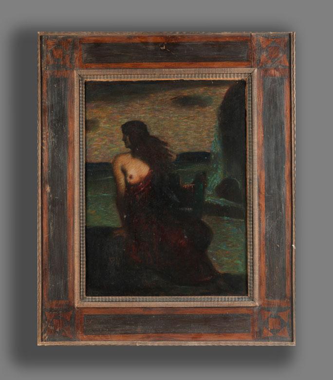 Detailabbildung: Adolf Frey-Moock, 1881 Jona/ Kanton Sankt Gallen – 1954 Egnach
