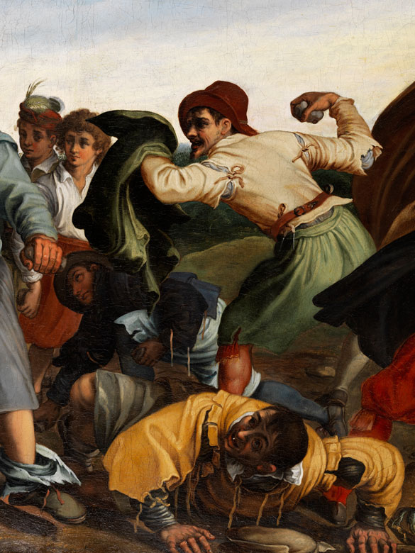Detailabbildung: Römischer Maler Anfang des 17. Jahrhunderts