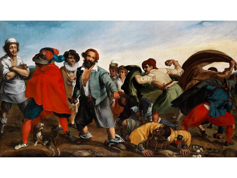 Römischer Maler Anfang des 17. Jahrhunderts