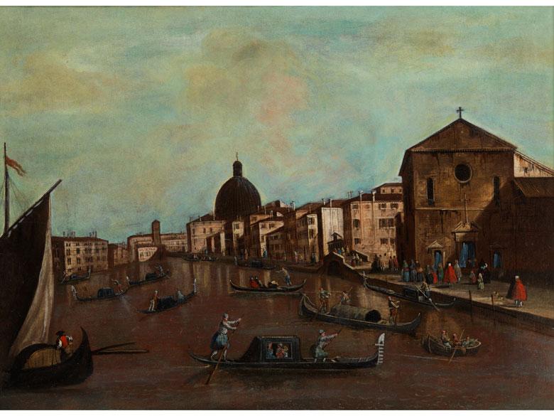 Venezianischer Vedutist in der Nachfolge des Bernardo Bellotto (1721-1780)