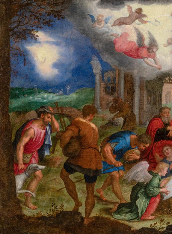 Detailabbildung: Johann Rottenhammer d. Ä., 1564 München – 1625 Augsburg
