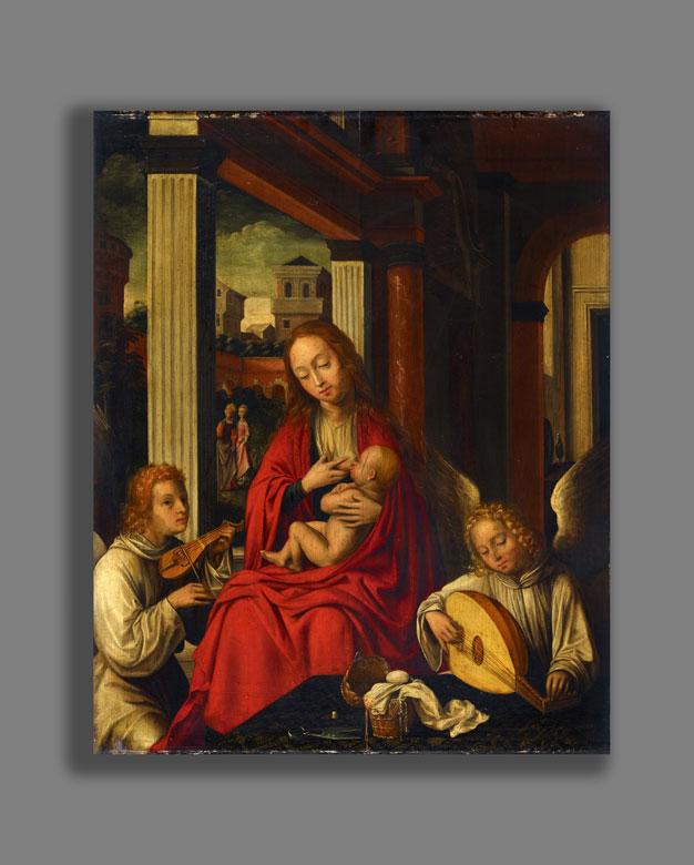 Detailabbildung: Willem Key, um 1515 Breda – 1568 Antwerpen