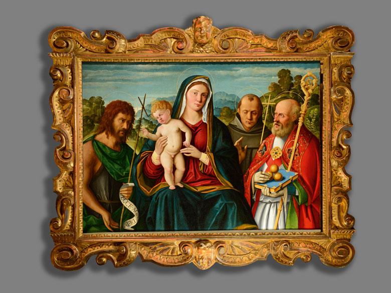 Detailabbildung: Girolamo da Santacroce, ca. 1485 Bergamo – 1556