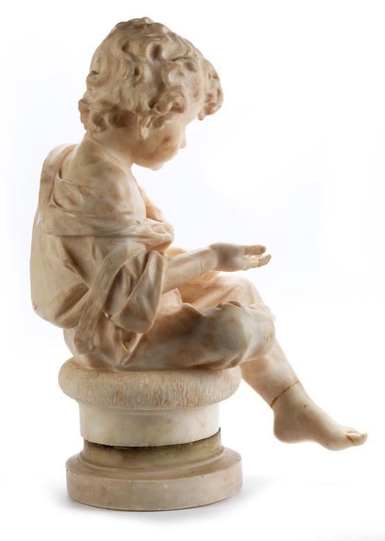 Detailabbildung: Italienischer Bildhauer des 19. Jahrhunderts