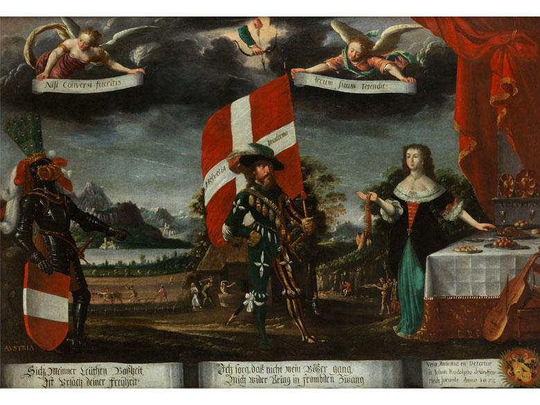 Albrecht I. Kauw, 1621 Sraßburg – 1681 Bern