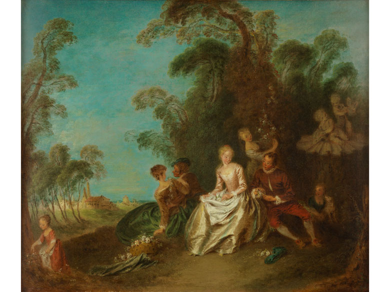 Detailabbildung: Jean-Baptiste François Pater, 1695 Valenciennes – 1736 Paris