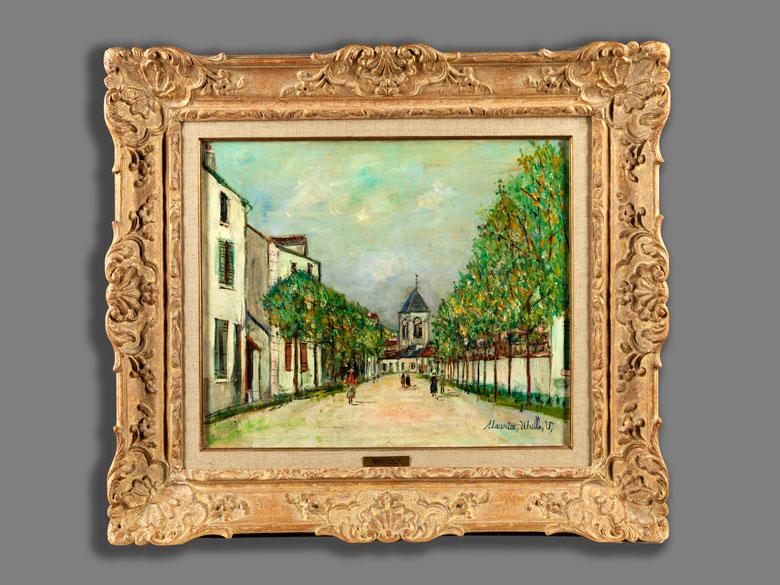 Detailabbildung: Maurice Utrillo, 1883 Paris – 1955 Dax