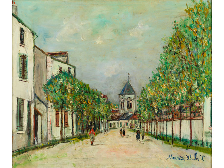 Maurice Utrillo, 1883 Paris – 1955 Dax