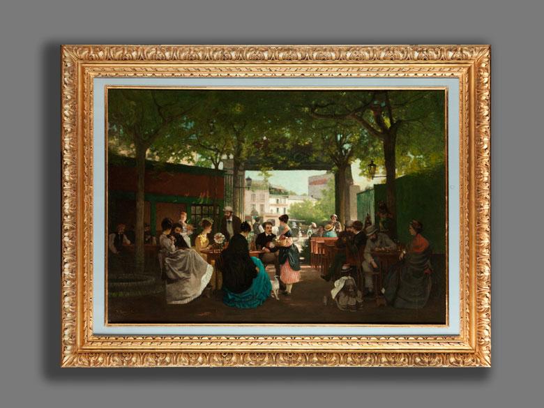 Detailabbildung: René Archille Rousseau-Decelle, 1881 La Roche-sur-Yon - 1964 Préfailles
