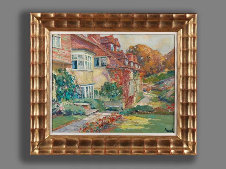 Detailabbildung: Edward Cucuel 1875 San Francisco – 1954 Pasadena/ Kalifornien