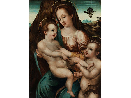 Italienischer Meister des beginnenden 17. Jahrhunderts aus der Schule von Parma