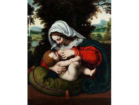 Andrea Solario, um 1470 Mailand – 1525, zug