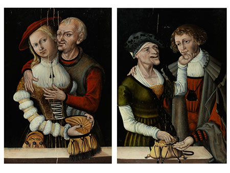 Lucas Cranach II, 1515 – 1586, zug.