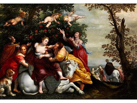 Dirck de Quade van Ravesteyn (1565/70 – 1620) und Roelant Savery (1576/78 – 1639), zug.