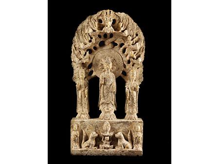 Chinesische Buddha-Gruppe