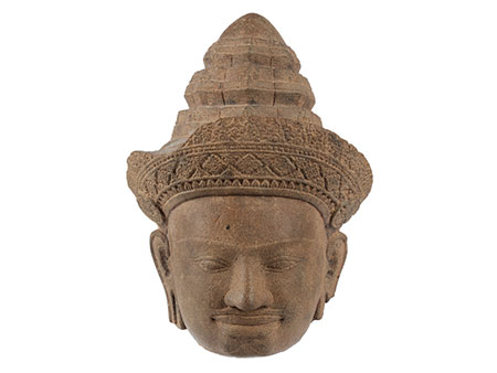 Kopf eines Vishnu