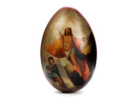 Osterei mit Auferstehung
