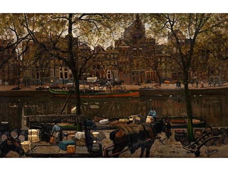 Gerrit Willem Knap, 1873 Amsterdam – 1931 ebenda
