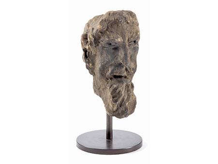 Kopf eines Fauns