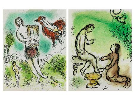 Marc Chagall, 1887 Witebsk – 1985 Saint-Paul-de-Vence, nach