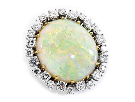 Detail images:  Opal-Diamantanhänger