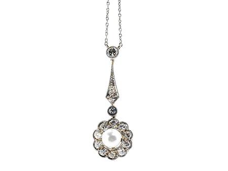 Detailabbildung: Perl-Diamantcollierchen