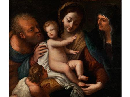 Antonio Allegri Correggio, um 1489 – 1534, Kreis/ Nachfolge des