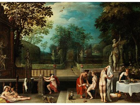 Adriaen van Stalbernt (1580-1662) und Abraham Govaerts (1589-1626), zug.