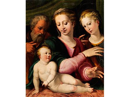 Bedeutender Meister der Schule der Emilia Romagna des 16. Jahrhunderts