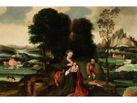 Joachim Patenir, um 1480 Dinant – 1524 Antwerpen, zug.