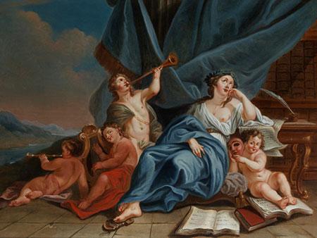 Louis Gabriel Blanchet, 1705 Paris – 1772 Rom