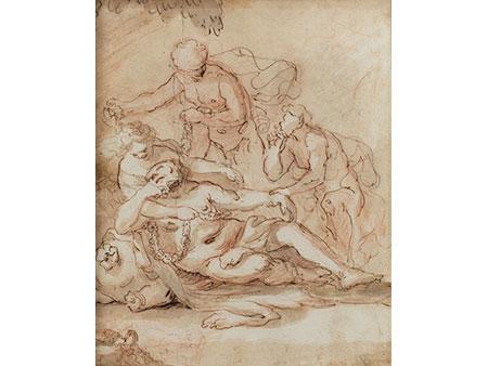 Künstler in der Stilart der Barock-Malerei um Jordaens
