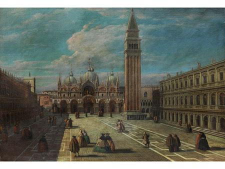 Venezianischer Künstler des 18. Jahrhunderts in der Nachfolge Bernardo Bellotto (1721 - 1780)