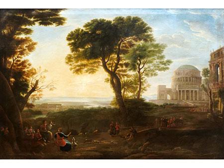 Hendrik Frans Van Lint, 1684 Antwerpen – 1763 Rom