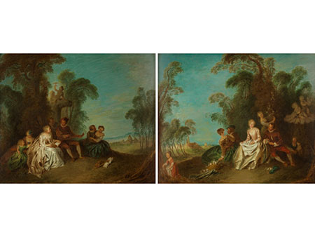 Jean-Baptiste François Pater, 1695 Valenciennes – 1736 Paris